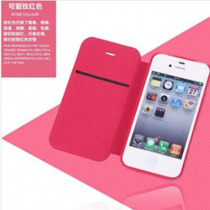 iphone4/4S Leather flip cover