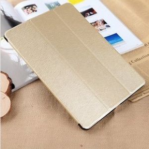Ipad Air  multifunctional protective back cover with leather fordable cover