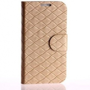 Samsung Galaxy S4 leather quilted flip cover