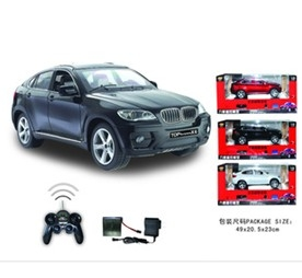 6 channel remote control X6 racing car model with music and lights