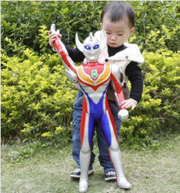 Ultraman Tiga  70CM model with singing and talking function