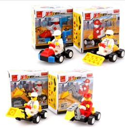 Engineering vehicles building blocks, shovel / dig / cruiser assembled model