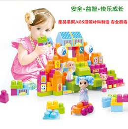 Doll house building blocks