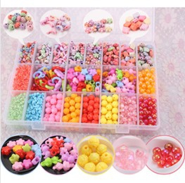 Kid's fun DIY beads set
