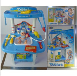 Little Doctor's playset with baby doll