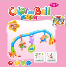 Colourful Bed bell for infants 0-18months