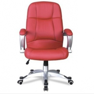 Simple PU Leather Office Chair