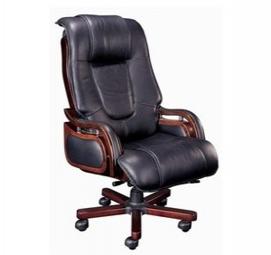 Simple Leather Office Chair