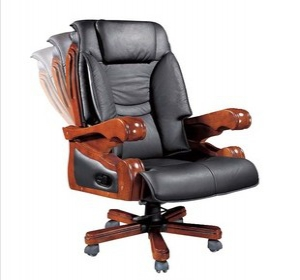 Multi-function leather office chair