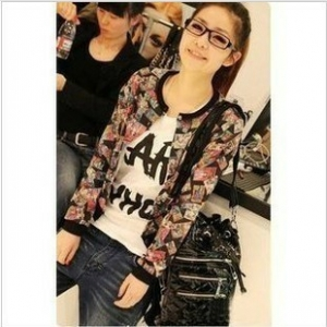 Long-sleeved cartoon comics Jackets