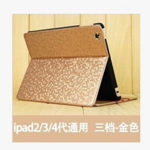ipad 2diamond pattern leather flip cover
