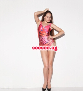 One-Piece Swim Wear
