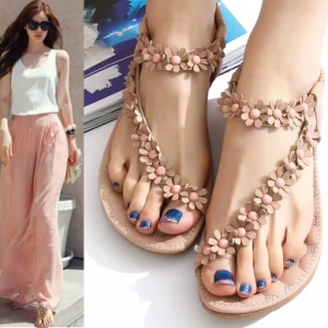 Open Toe Sandals orange