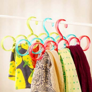 Hangers for scarves