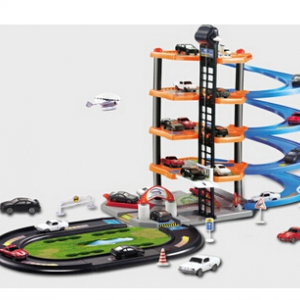 5 storeys multi carpark simulation toy set with toy car