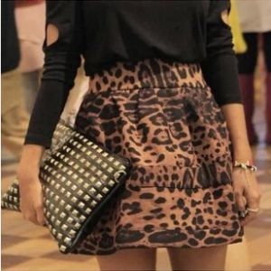 Sexy Leopard Printed Skirt