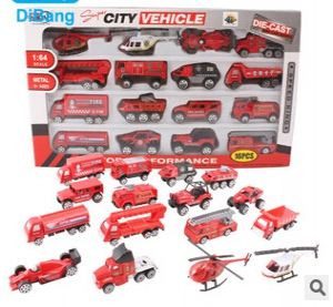 16pcs Super city vehicles