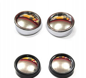 2pcs Small round car rearview mirror