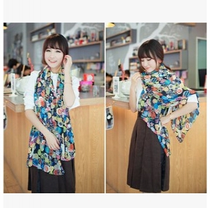 Lovely printed scarf 160*70cm