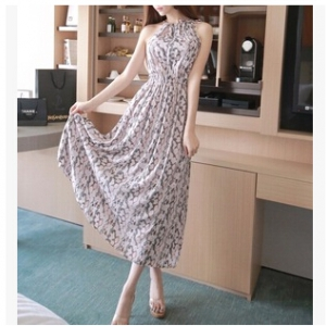 CHIFFON LONG DRESS A705