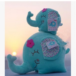 elephant doll set 2pcs