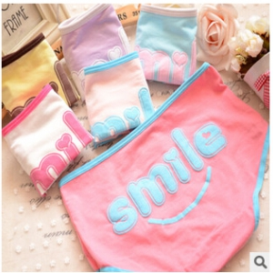Cute cotton panties Random design