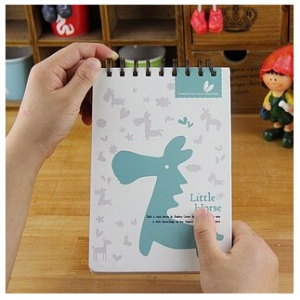 Lovely horse notebook