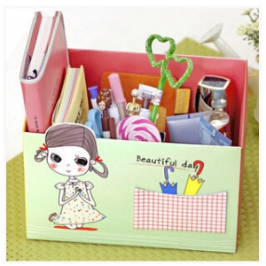 DIY lovely storage box   random design
