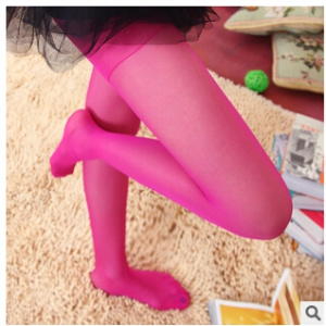 2045 Candy coloured silky stockings pantyhose