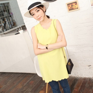 T507 Chiffon Long Blouse