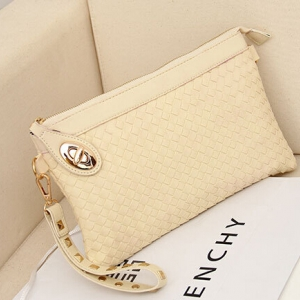 Ladies Weaving Small Clutch Bag