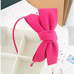 G80Trendy Ribbon Hair Bands