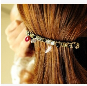 E1138 Crystal Hairpins Random design
