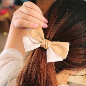 E1021 Ribbon hair clip Random design