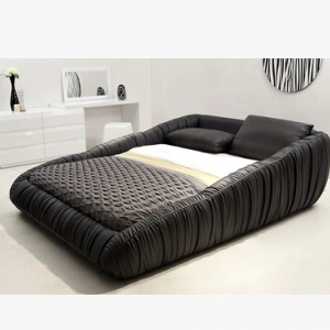Preorder-1.8 M Leather double bed (King size)
