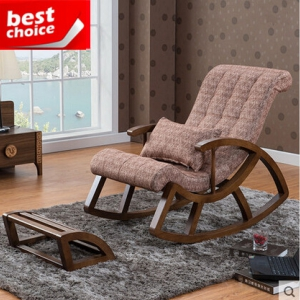Rocking chair+footstool