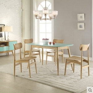 Dining table & four chairs (1.3M)