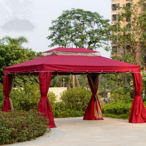 Gazebo with curtains (3*3M)