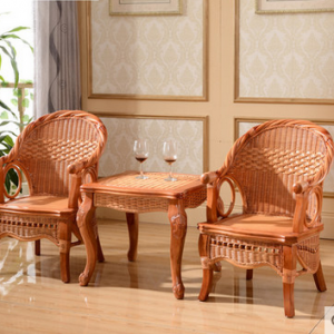 preorder- Rattan armchairs+coffee table