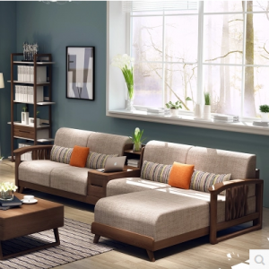 Preorder-Fabric  sofa set with storage