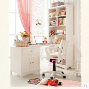 Preorder-Kids' desk with shelf unit + chair