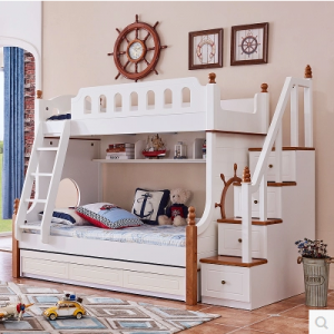 Preorder-Bunk bed frame with drawers