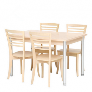 preorder- Dining table + 4 chairs