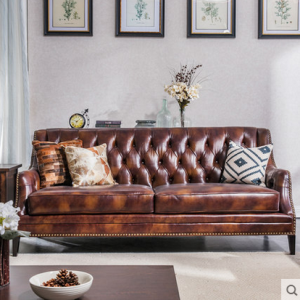 preorder- Leather three-seat sofa+two-seat sofa+ armchair