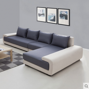 preorder- Fabric three seat sofa +chaise longue