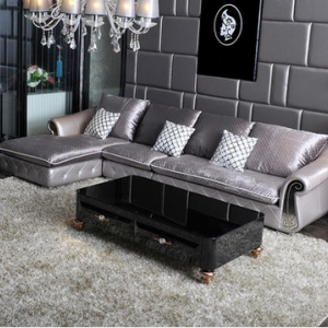 preorder- Fabric three seat sofa + chaise longue