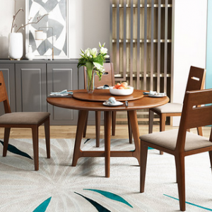 Preorder-Dining table+four chairs