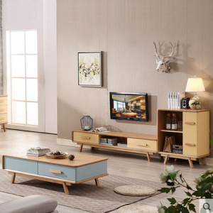 Preorder-TV bench + Shelving unit