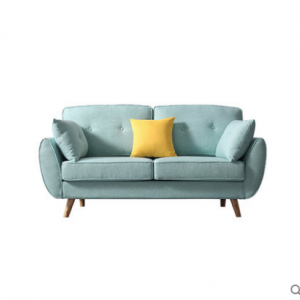 Preorder-Fabric two-seat sofa