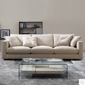 Preorder-Fabric four-seat sofa